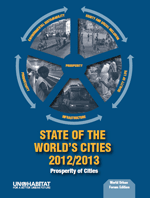 State of the World's Cities 2012/2013. Prosperity of Cities