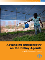 Advancing Agroforestry on the Policy Agenda. A guide for decision-makers