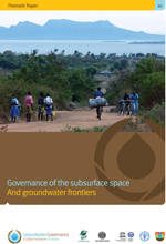 Governance of the subsurface and groundwater frontier