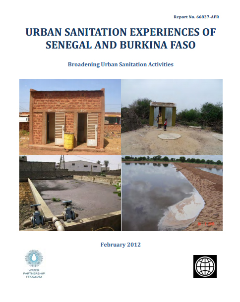Urban Sanitation Experiences from Senegal and Burkina Faso. Broadening Urban Sanitation Activities