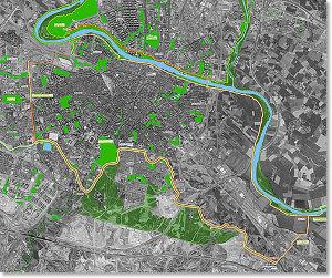 Ayuntamiento de zaragoza medio ambiente parques y - Anillo verde ciclista madrid mapa ...