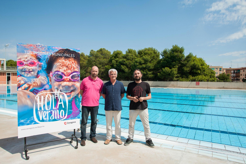 Ayuntamiento de zaragoza noticias las piscinas for Piscina agustinos zaragoza