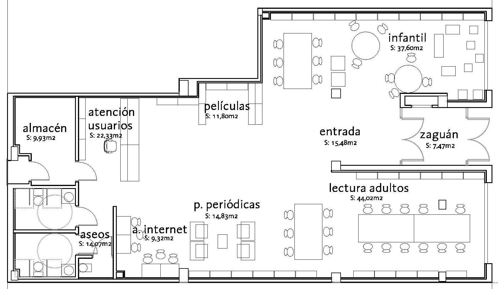 Ayuntamiento de zaragoza noticias zaragoza dispondr esta for Plano escuela infantil
