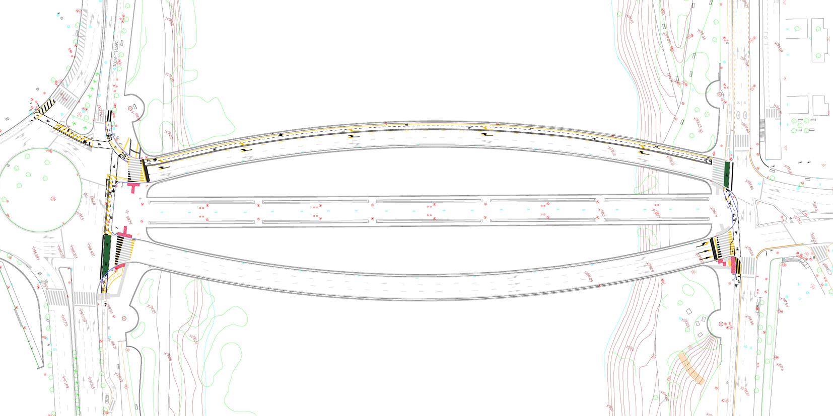 Planos puente del Pilar (hierro)