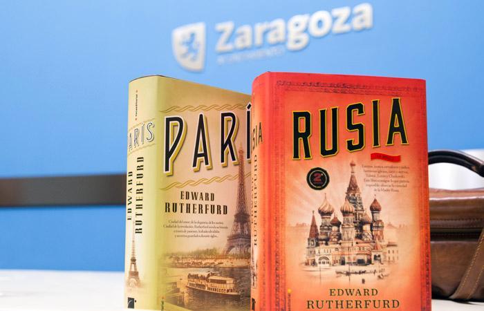 """Edward Rutherfurd recibirá el Premio de Honor del XI Premio Internacional de Novela Histórica """"Ciudad de Zaragoza"""""""
