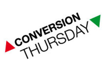 Conversion Thursday Zaragoza