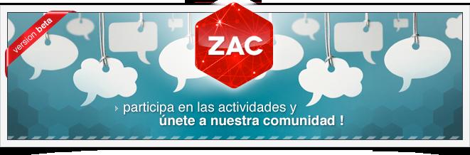 Red Zac únete a nuestra comunidad