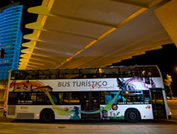 bus tur?stico nocturno