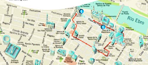 Itinerario walking tours