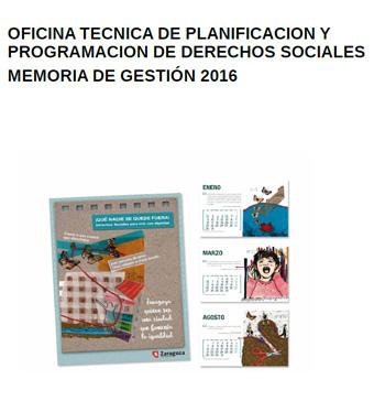 Memoria de gesti n de la oficina t cnica de planificaci n for Convenio ingenierias y oficinas tecnicas 2016