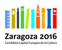 Logotipo Oficial Zaragoza 2016. Capital Europea de la Cultura