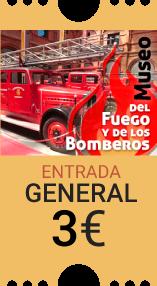 Museo del Fuego y los Bomberos Entrada general 3.50 euros