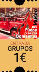 Museo del Fuego y los Bomberos Entrada grupos 1.10 euros
