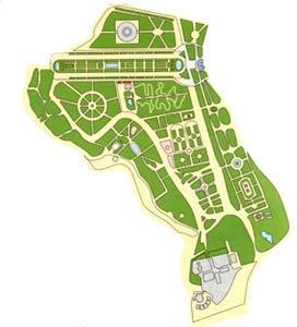 Mapa Parque Grande Zaragoza.Ayuntamiento De Zaragoza Catalogo De Parques Y Jardines Parque Grande Jose Antonio Labordeta