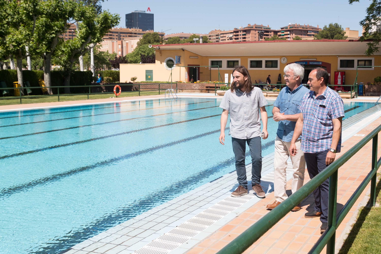 Ayuntamiento de zaragoza noticias este s bado comienza la for Piscina ciudad jardin sevilla