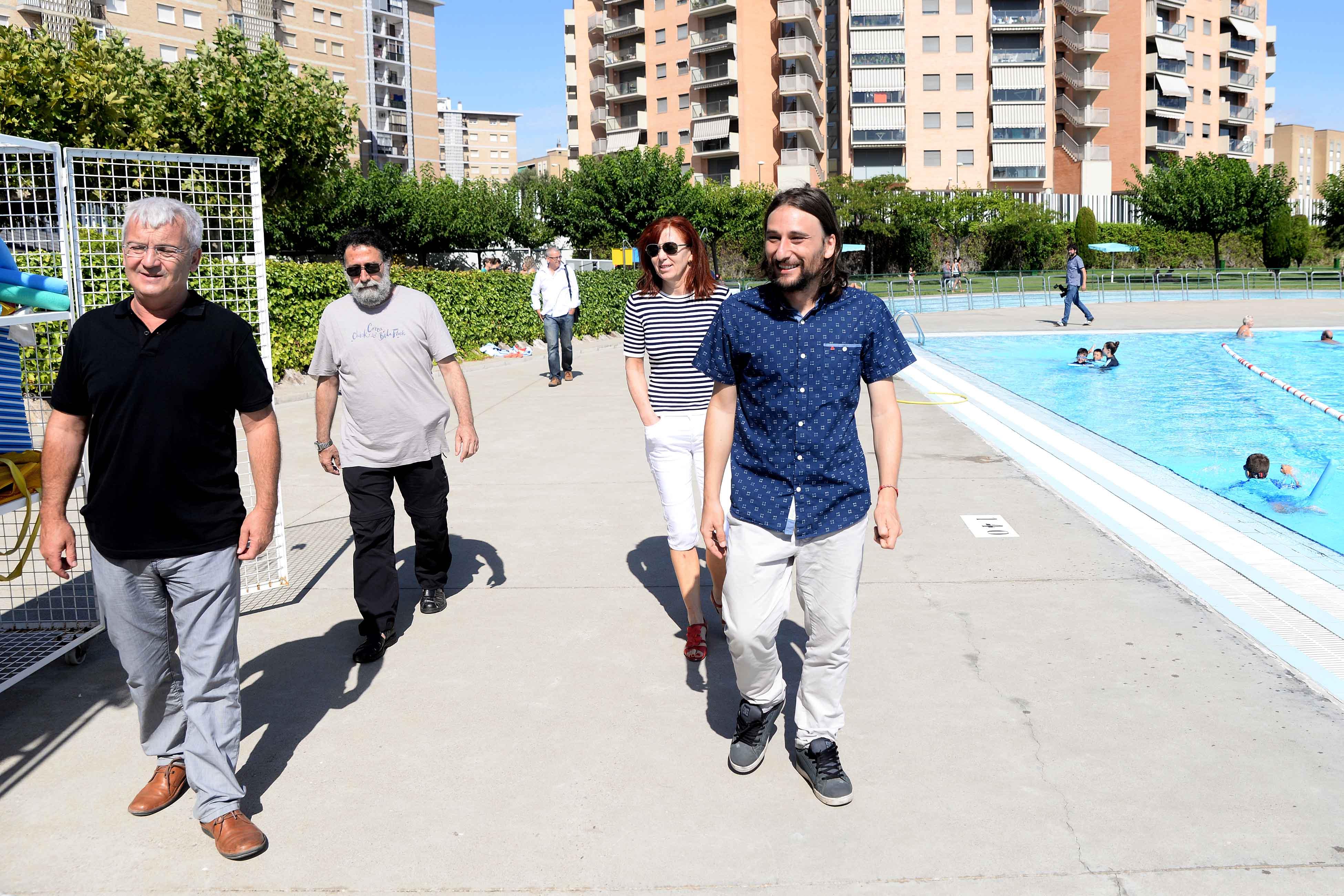 Ayuntamiento de zaragoza noticias los usos de las for Piscinas publicas zaragoza