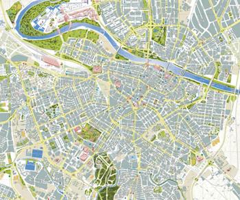 Mapa De Zaragoza Ciudad.Ayuntamiento De Zaragoza Urbanismo Planeamiento Planos Ciudad